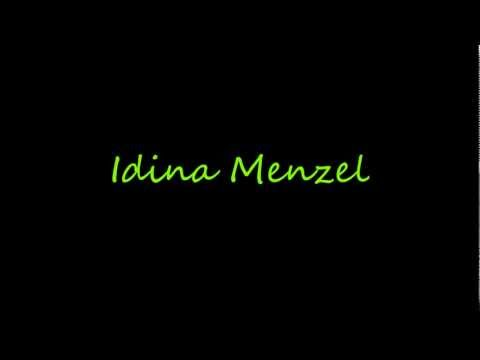 Idina Menzel- I'm Not That Girl Lyrics