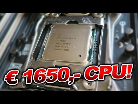€1650,- CPU im Computer - INTEL Core i7-6950X - VLOG