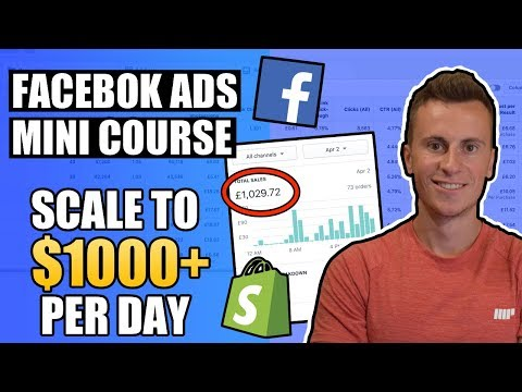 How I Scale To Over $1000/day With Facebook Ads | Shopify Facebook Ads Tutorial thumbnail