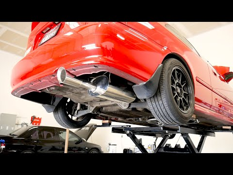 BEHOLD! The Sound of my People! | Honda Civic Exhaust Install