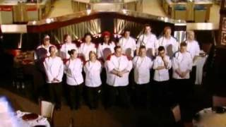Hell's Kitchen / Gordon Ramsay - Idiot wants to take on Gordon Ramsay