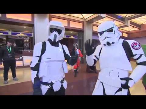 Star Wars The Last Jedi China Premiere - Red Carpet (official video)