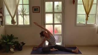 יוגה לימי קורונה- נימול בידיים ופתיחת מפרקים