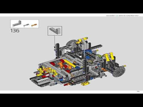 Download Lego Technic 42083 Bugatti Chiron Instructions Book 1