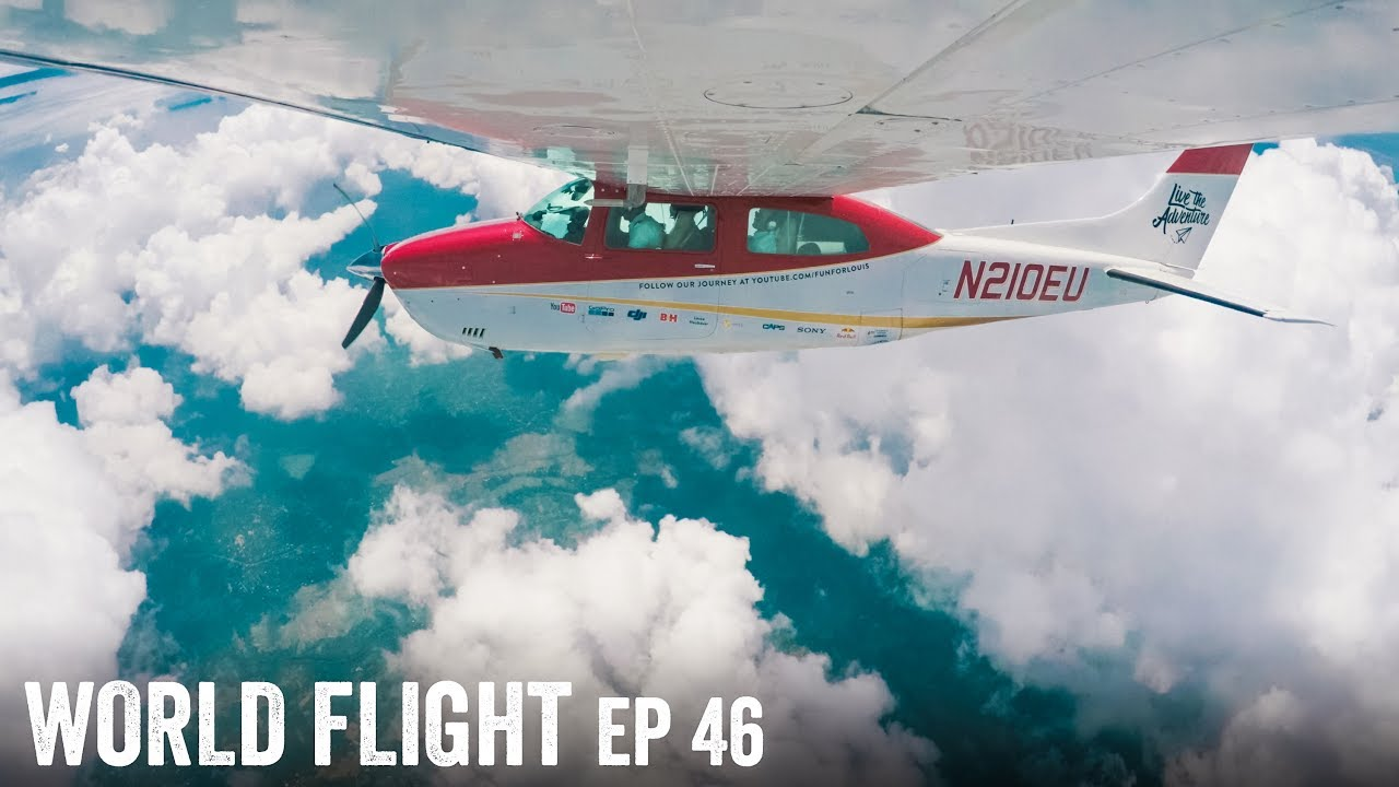 DODGING STORMS OVER INDIA! - World Flight Episode 46