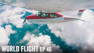 DODGING STORMS OVER INDIA! - World Flight Episode 46