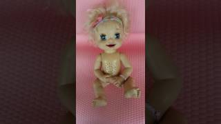bABY ALIVE DOLL lEAN TO POTTY HASBRO INTERACTIVE DOLL