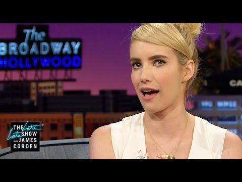 Emma Roberts Is No Fan of Sweat Stache