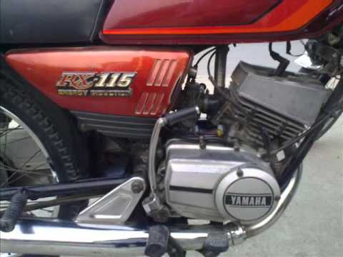 Yamaha rx 115 genuine youtube for Yamaha rx115 motorcycle for sale
