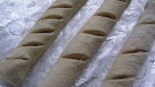 Постный хлеб  с  томатом  и  чесноком №120 Домашний хлеб