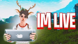 || Fortnite Mobile Live || Playing with Subs || Streaming With Face Cam|