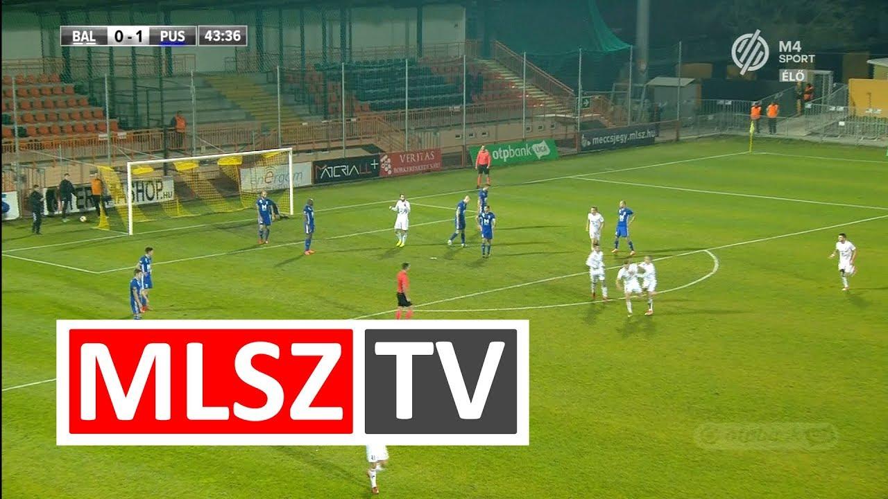 Sigér Dávid gólja a Balmaz Kamilla Gyógyfürdő - Puskás Akadémia FC mérkőzésen