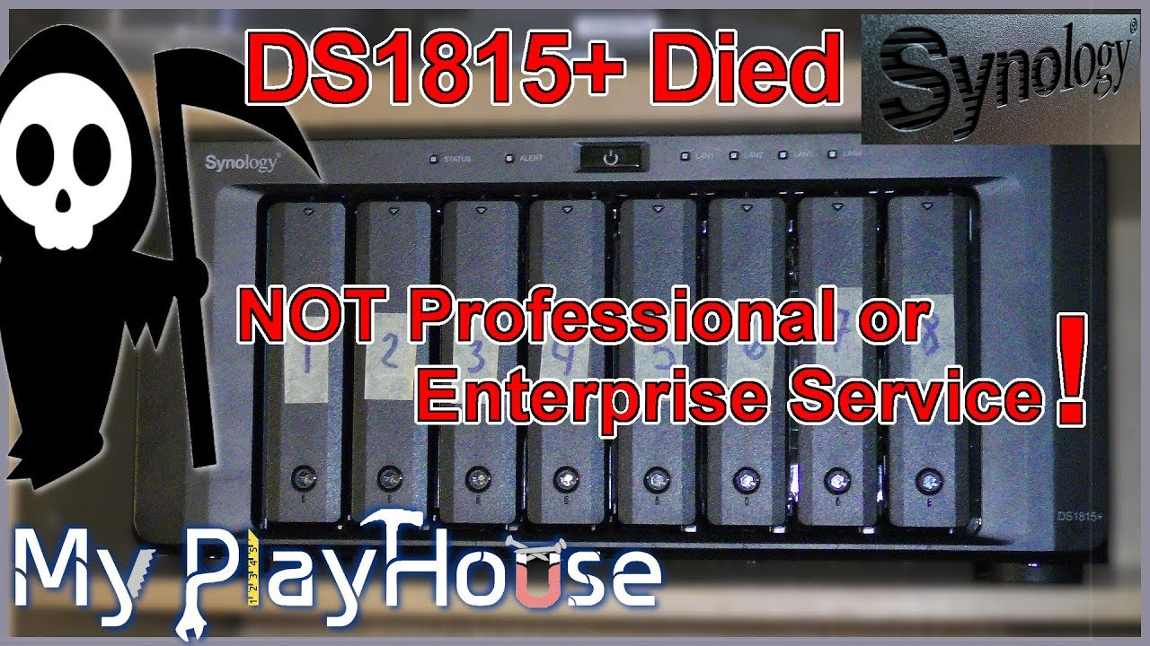 Synology DS1815+ Totally Died, NOT Pro or Enterprise Service - 732