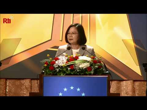 Tsai addresses European Chamber of Commerce Taiwan
