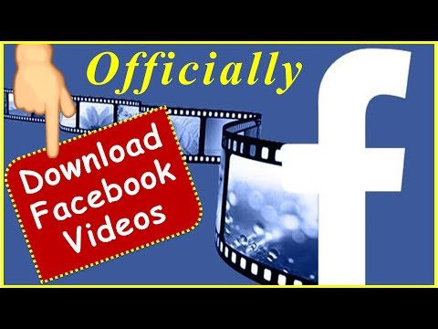 [Official Method] How to download videos from Facebook [Without using any software or App]