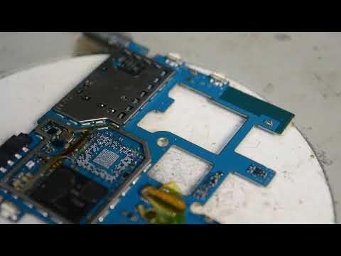 Ремонт Samsung J320H не включается, перезагружается, медленно работает. J320H Reballing CPU