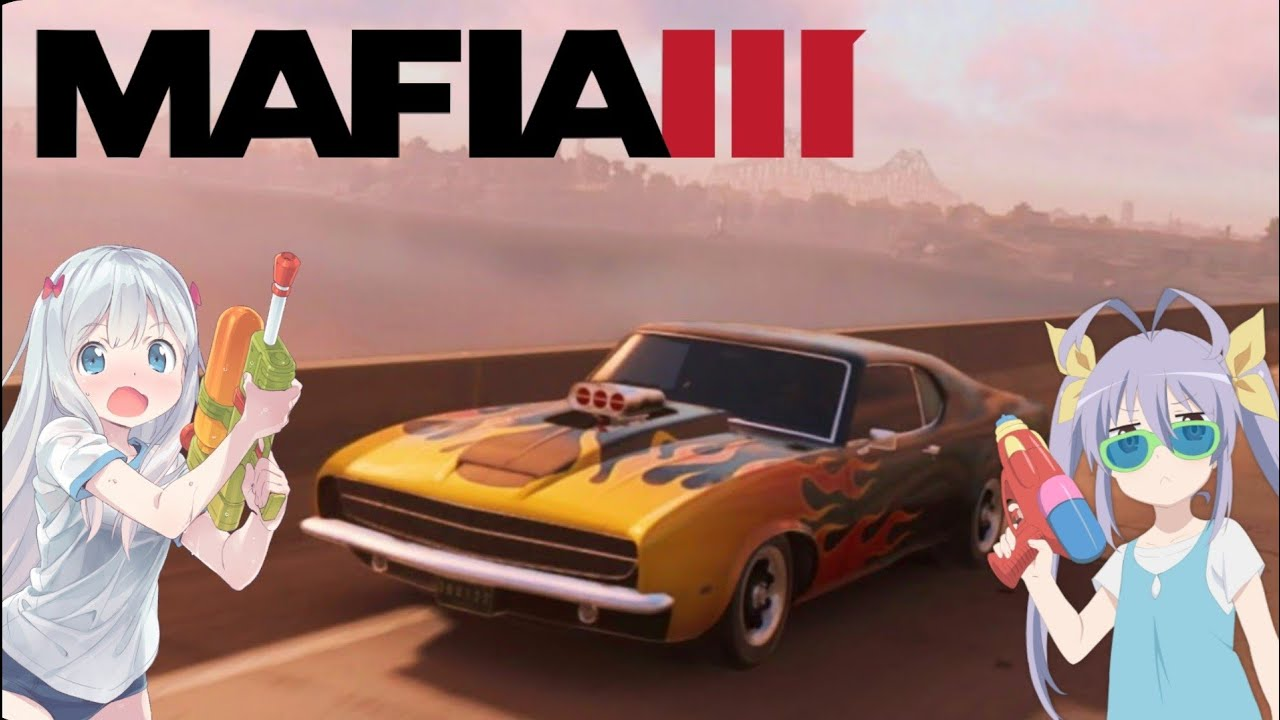 An Epic Race In the 1960's with Anime Music because I'm a Weeb | Mafia 3