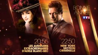 Les Aventures extraordinaires d'adele blanc sec 20h55 +new york section criminelle 22h50 + alice nev