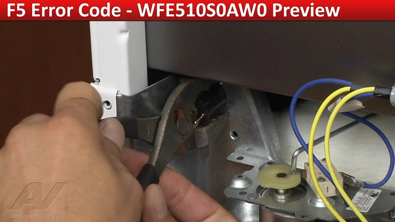 F5 Error Code -- Whirlpool, KitchenAid Range diagnostic & repair