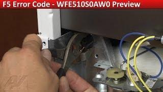 f5 error code whirlpool kitchenaid range diagnostic repair