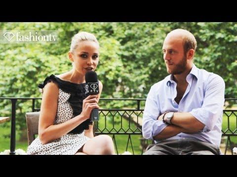 Morton's Club with Noelle Reno, London Olympics 2012  FashionTV