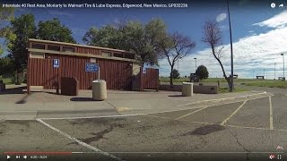 Interstate 40 Rest Area, Moriarty to Walmart Tire & Lube Express, Edgewood, New Mexico, GP032236