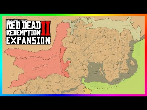 Red Dead Redemption 2 - MAP EXPANSION! NEW Towns, Diverse Regions, Massive Cities & MORE! (RDR2)