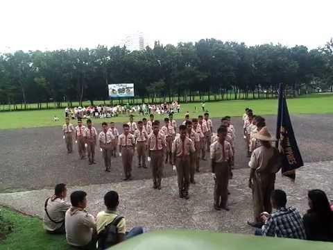 Scouting Month Fancy Drill 2016: Marigondon National High School