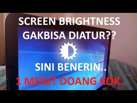 السلامعليكم Ok sobat di video ini kami akan memberikan tips mengatasi brightness tudak berfungsi. Ji.