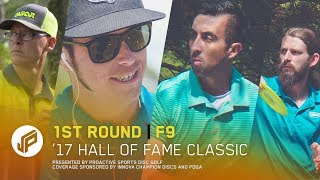 2017 Hall of Fame Classic | Round 1, Front 9 | McBeth, Conrad, Barsby, Bryk