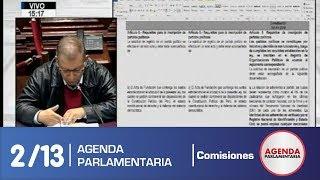 Sesión Comisión de Constitución 2/13 (20/06/19)