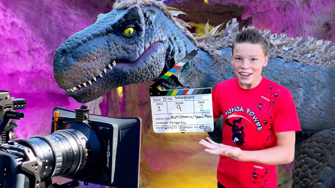 Behind the Scenes of Ninja Kidz Dino Smashers!