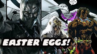 Black Panther Movie Easter Eggs! Possible Future Villain And MCU Connections