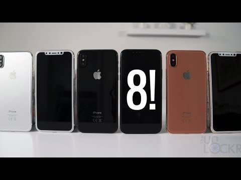 iPhone 8 Model Hands On! (ALL COLORS)