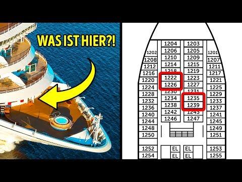 13 Geheimnisse, Die Kreuzfahrtschiffe Nicht Offenbaren Wollen