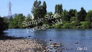 Eugene Oregon - Stock Footage - Public Transportation - Historic Theater - Bridge - Nature