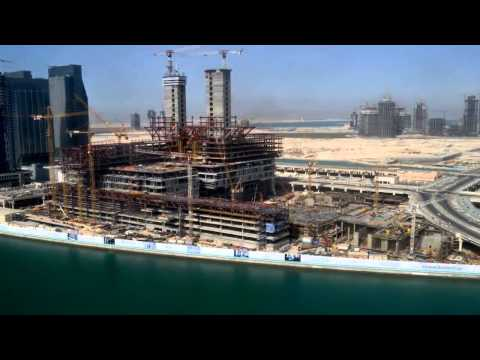 2013 Time Lapse of Cleveland Clinic Abu Dhabi