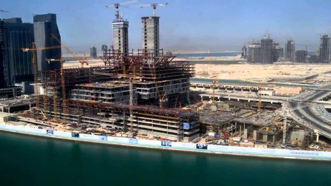 2013 Time Lapse of Cleveland Clinic Abu Dhabi