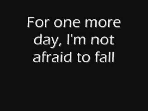 One more day - 10 Years (Lyrics)