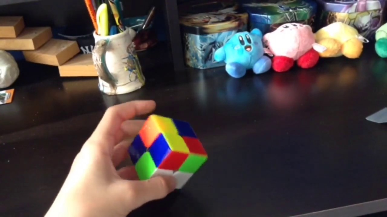how to solve a 2x2 rubix cube