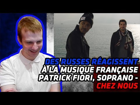 RUSSIANS REACT TO FRENCH MUSIC   Patrick Fiori En Duo Avec Soprano - Chez Nous   REACTION