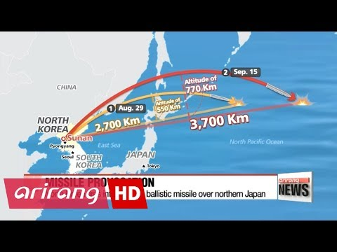 North Korea fires another ballistic missile over Japan
