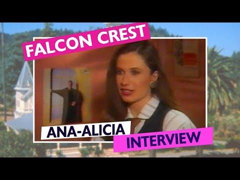 Falcon Crest: Ana-Alicia 1989 Inside Television Interview