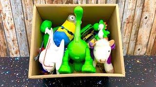 बच्चों के लिए खिलौना बॉक्स ☺️ Toy Box for kids