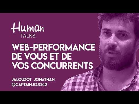 Comment suivre la web-performance de vous et de vos concurents par Jalouzot Jonathan