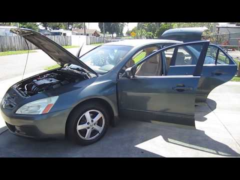 SOLD 2004 Honda Accord EX One Owner Meticulous Motors Inc Florida For Sale
