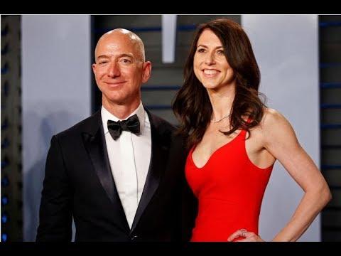 Amazon's Jeff Bezos, wife MacKenzie to divorce Mp3
