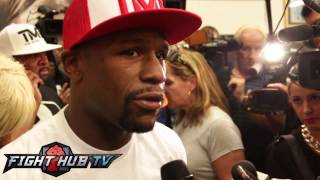 Floyd Mayweather on if Marcos Maidana could be the biggest puncher he