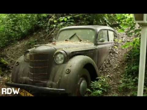 Abandoned Classic Cars With a Twist