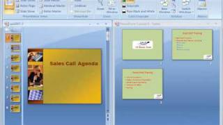 PowerPoint 2007 Tutorial 7: Copying from one presentation to another